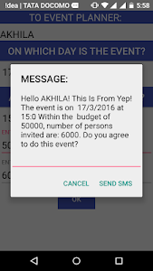 Your Event Planner screenshot 5