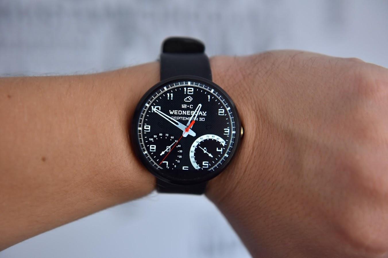 Metal Elegant Watch Face