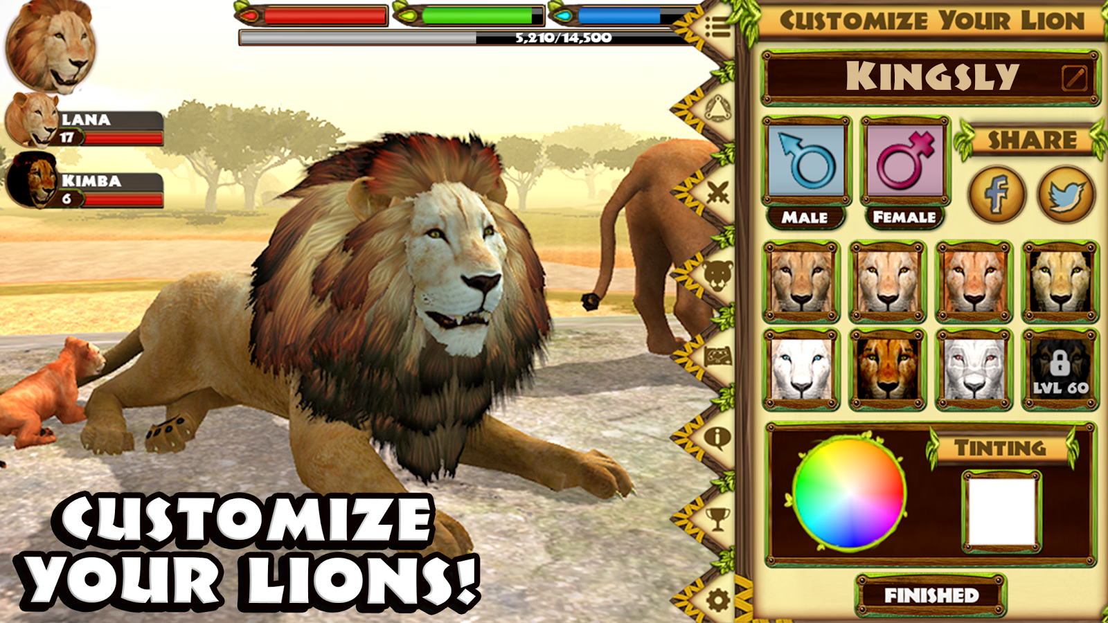 Ultimate Lion Simulator- screenshot