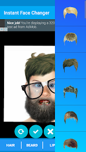 Face Changing - InstantFace screenshot 2