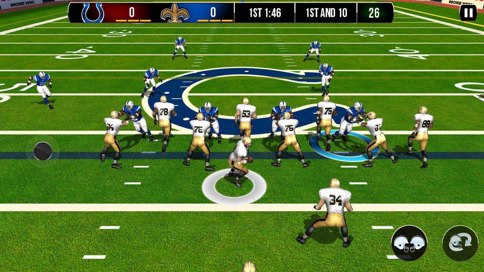 NFL Pro 2014- screenshot