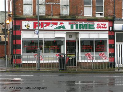 Pizza Time On Darlington Road Pizza Takeaway In Town