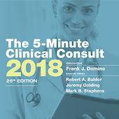 5 Minute Clinical Consult 2018 - #1 for 25 years