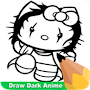 How To Draw Dark Anime APK icon
