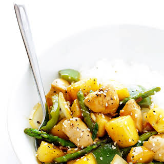 Pineapple Ginger Chicken Stir-Fry.