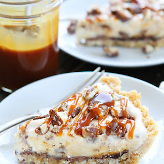 Twix Ice Cream Pie Recipe