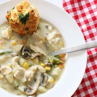 Chicken Pot Pie Soup.