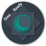 aospUI(BlueGray)Dark Substratum Theme+Samsung&Oreo Icon