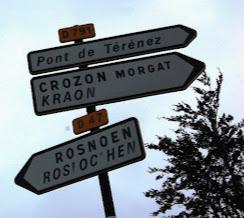 Photo: BRETANYA 2013. Anem des de Le Faou cap al mirador de Rosnoën , i cap al pont de Térénez , que dóna accés a la península de Crozon.