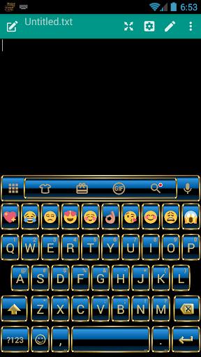 FrameBlue Emoji 键盘