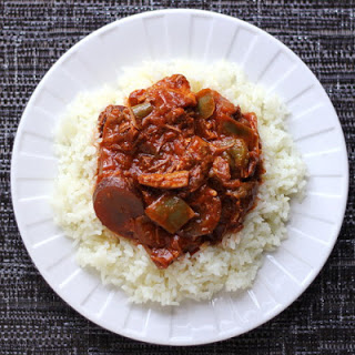 Pork Stew with Peppers