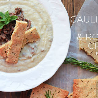 Creamy Cauliflower Soup.