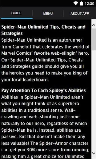 Spider M Unlimit Strategy