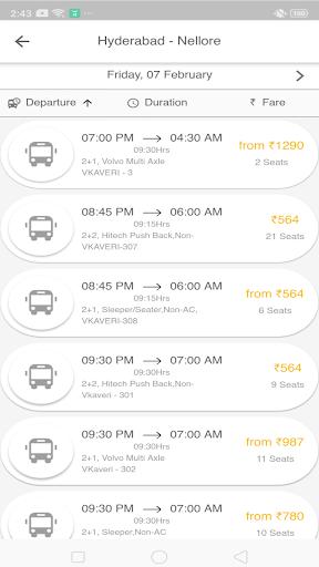 vkaveri travels screenshot 3