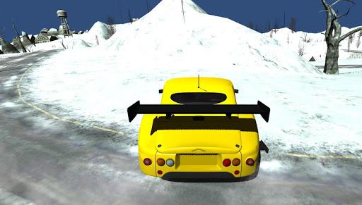 Турбина на колесах 3D гонки