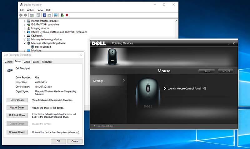 Cách khóa chuột cảm ứng laptop dell, - 287449