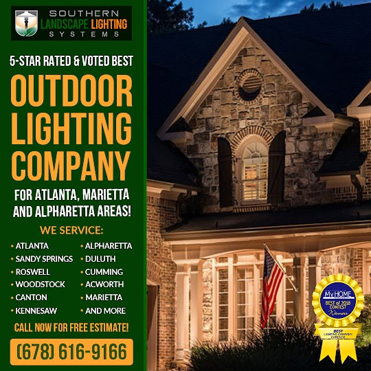 Outdoor Lighting Companies in Marietta