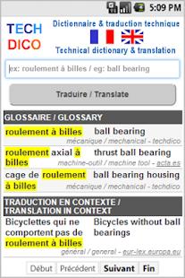 dictionnaire fran ais anglais applications android sur google play. Black Bedroom Furniture Sets. Home Design Ideas