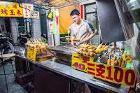 大埔烤玉米