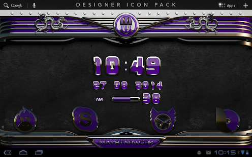 Purple Dragon HD Icon Pack Screenshot