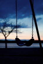 Photo: Chilly evening No kids on the swings.  #365project curated by +Susan Porter and +Simon Kitcher