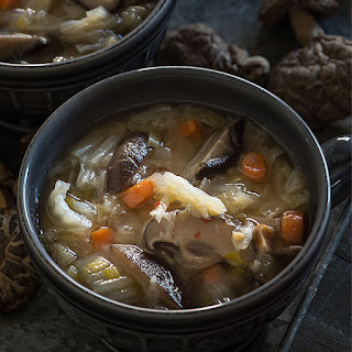 Vegan Shiitake Miso Cleansing Soup