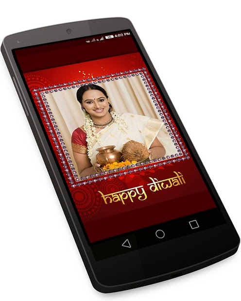 Happy Diwali Photo Frames Editor & Wishes 2019 screenshot 1