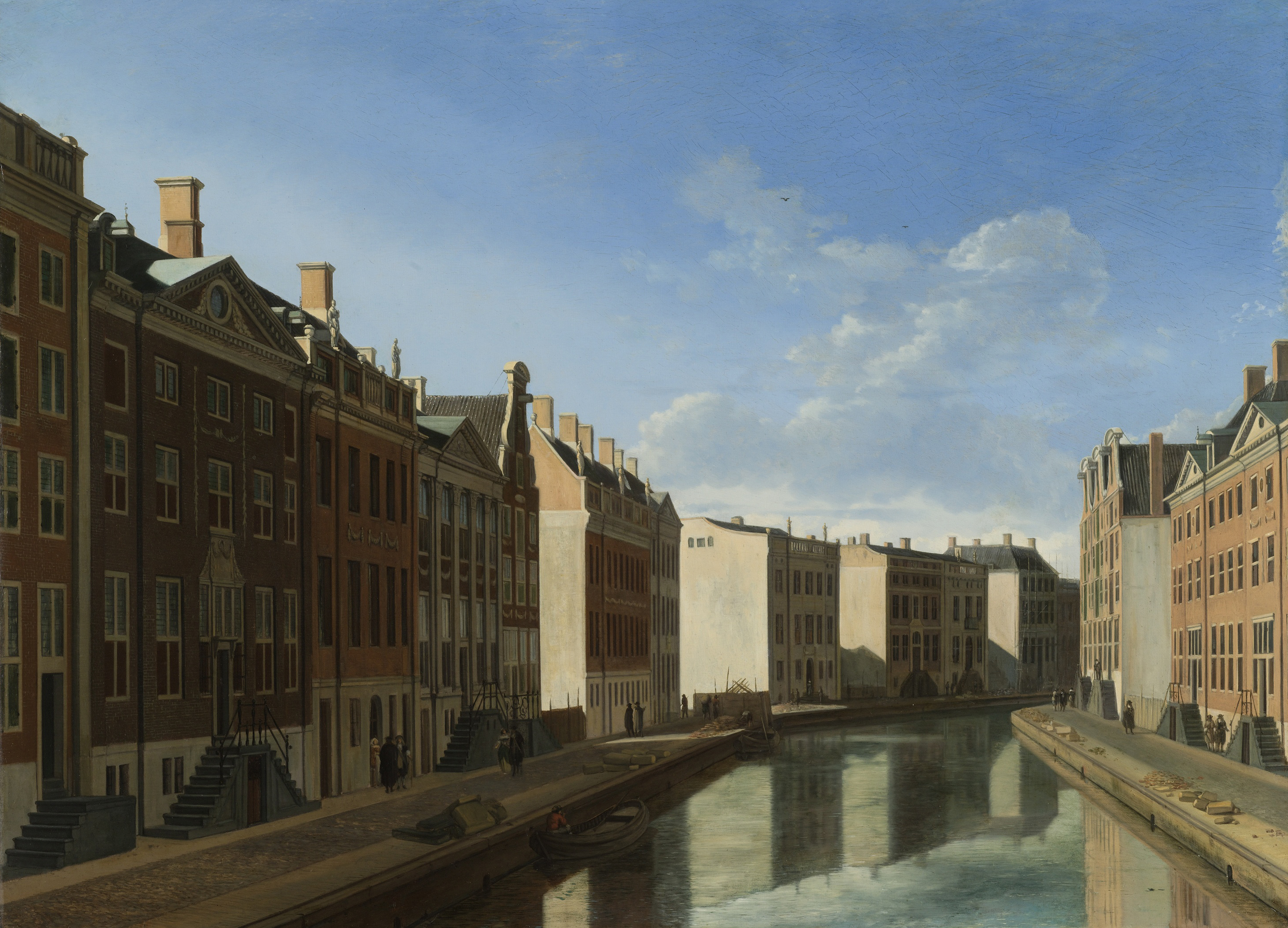 View of the Golden Bend in the Herengracht