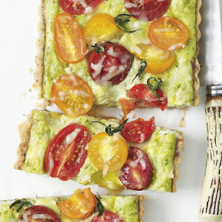 Colorful Tomato Pest Tart