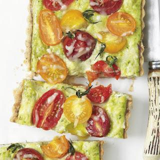 Colorful Tomato Pest Tart