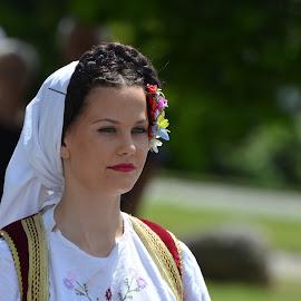 Folklor by Maki Vykydalova - People Portraits of Women ( street )