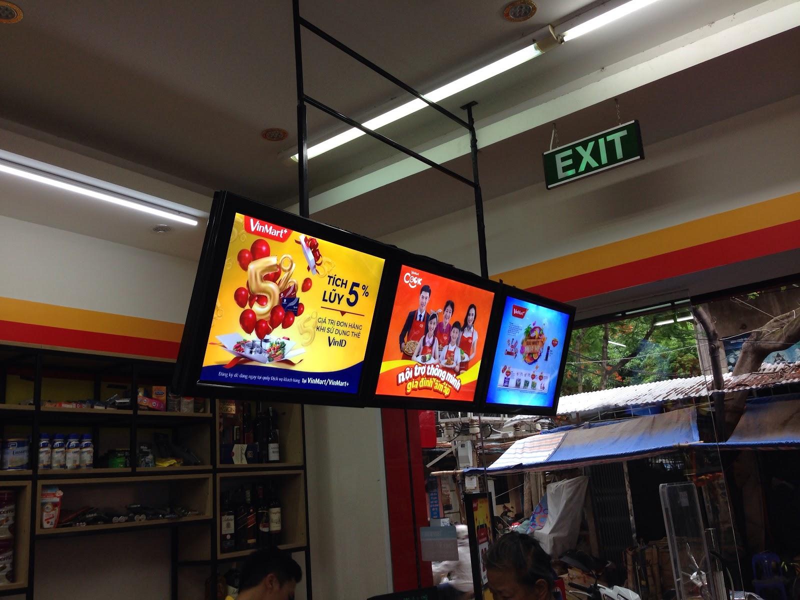 Làm biển quảng cáo led ma trận giá rẻ