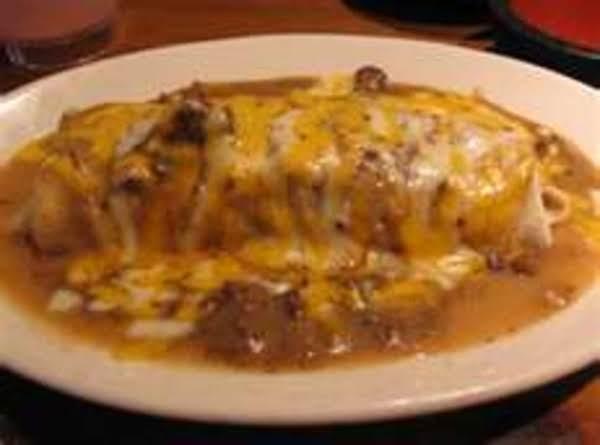 Chili Cheese Burritos