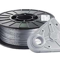 Metallic Silver PRO Series PLA Filament - 2.85mm (1kg)