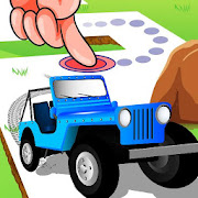 Offroad Line Runner - Jungle Adventure