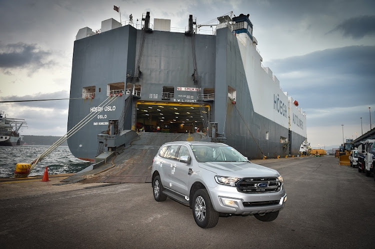 Export of the Ford Everest continues. Picture: QUICKPIC