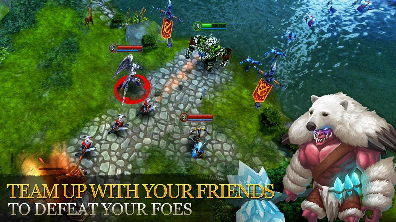 Heroes of Order & Chaos- screenshot