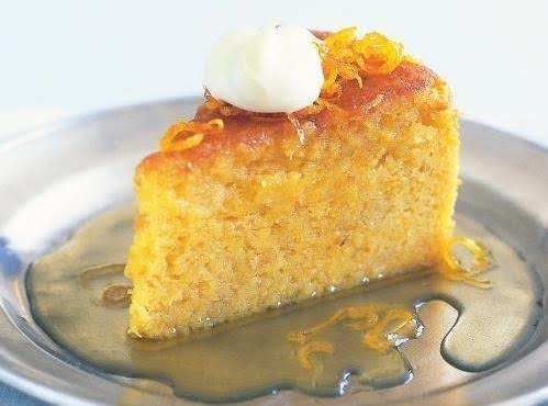 Simple And Delicious Orange Cake
