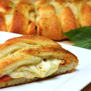 Pizza and Pepperoni Braid.