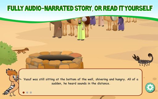 Quran Stories with HudHud - The Story of Yusuf 1.0 screenshots 6