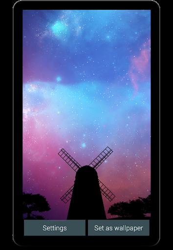 Nightfall Live Wallpaper Free screenshot 3