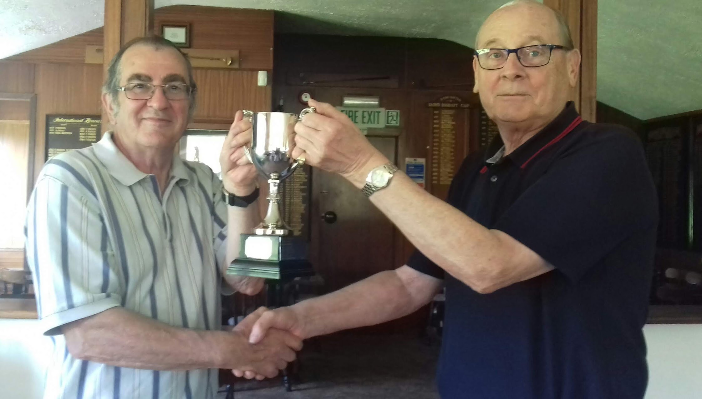Wilkinson takes David Griffith trophy