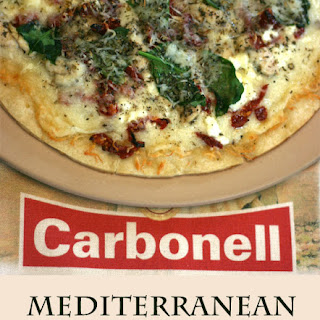 Mediterranean Pizza with Carbonell