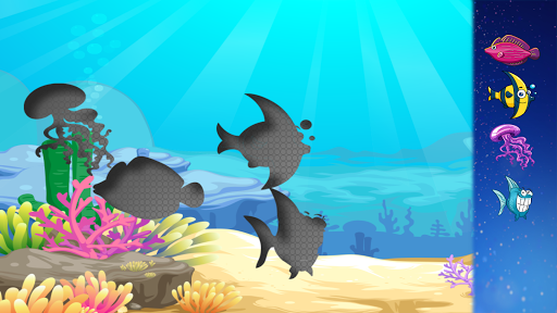 漫画の魚のマッチング