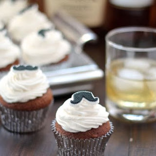 Mocha Cupcakes with Bourbon Frosting Recipe