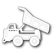 Memory Box Die - Mighty Dump Truck