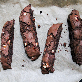 Double Chocolate Chip Pecan Biscotti