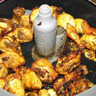 Fried Chicken with Sweet Mustard.