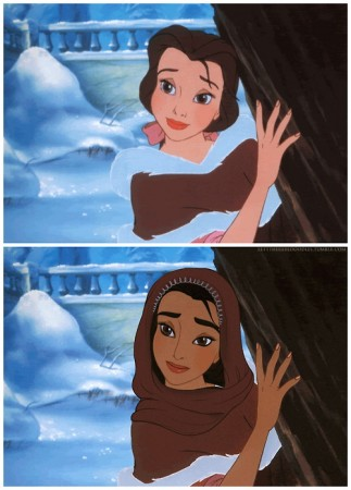 """Chùm Ảnh """"Bạch Tuyết của Disney phiên bản da màu"""" - H2"""