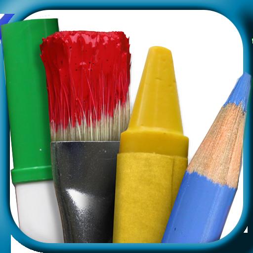 着色的网页 - 儿童 教育 App LOGO-APP試玩